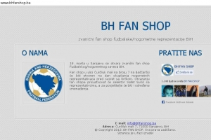Prvi BH Fan shop